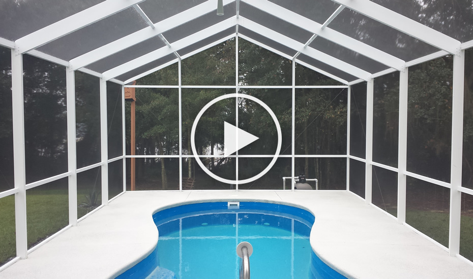 Pool Enclosures By All Custom Aluminum 1 850 524 0162 Tallahassee Pool Enclosures